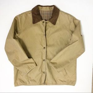 Vintage Orvis cotton canvas Quilted Barncoat small